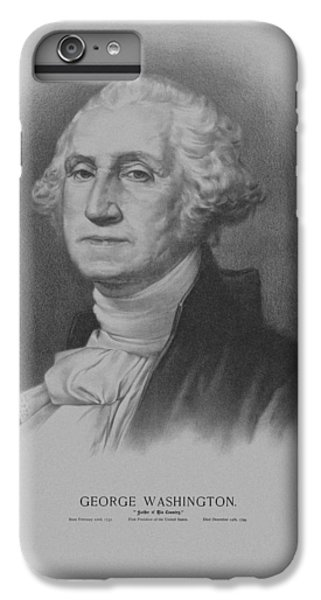 George Washington IPhone 6 Plus Case by War Is Hell Store