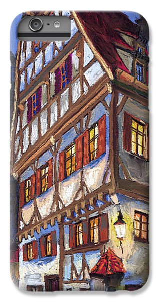 Architecture iPhone 6 Plus Case - Germany Ulm Old Street by Yuriy Shevchuk