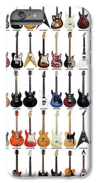 Rock Music Jimmy Page iPhone 6 Plus Case - Guitar Legends by Zapista Zapista