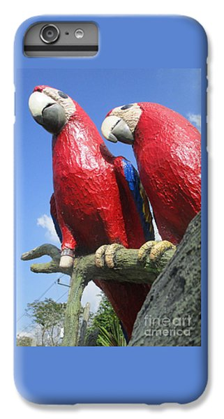 Giant Macaws IPhone 6 Plus Case by Randall Weidner
