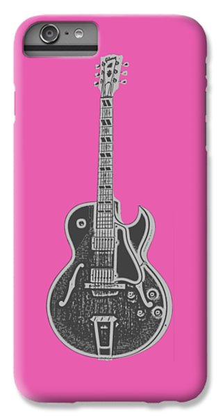 Gibson Es-175 Electric Guitar Tee IPhone 6 Plus Case by Edward Fielding