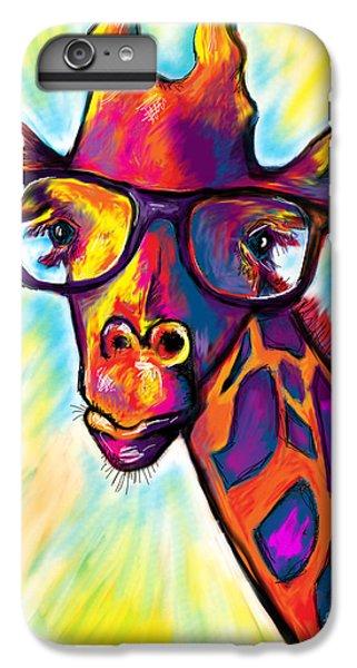 Giraffe IPhone 6 Plus Case by Julianne Black