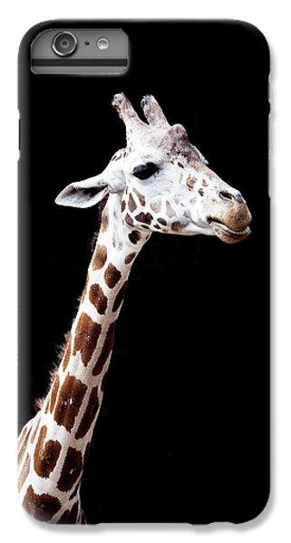 Giraffe IPhone 6 Plus Case by Lauren Mancke