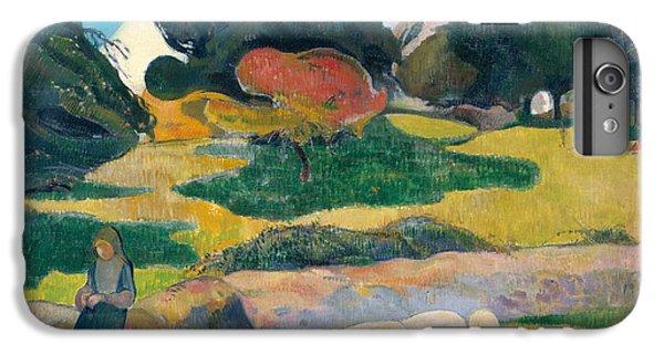 Girl Herding Pigs IPhone 6 Plus Case by Paul Gauguin