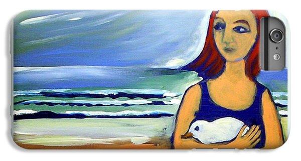 Girl With Bird IPhone 6 Plus Case