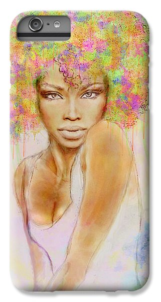Girl With New Hair Style IPhone 6 Plus Case