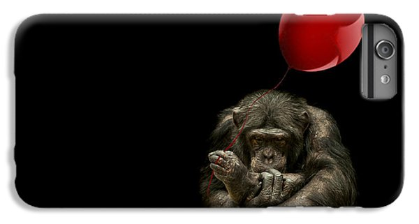 Girl With Red Balloon IPhone 6 Plus Case by Paul Neville