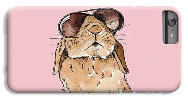 Glamorous Rabbit IPhone 6 Plus Case by Katrina Davis