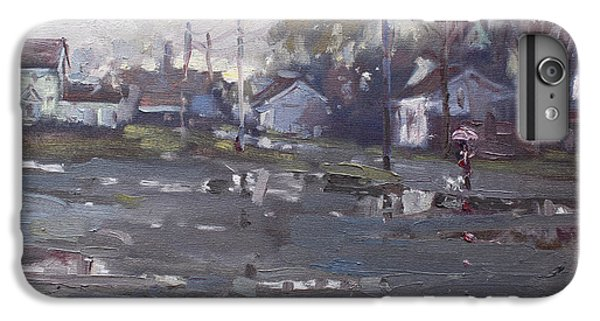 Gloomy And Rainy Day By Hyde Park IPhone 6 Plus Case by Ylli Haruni
