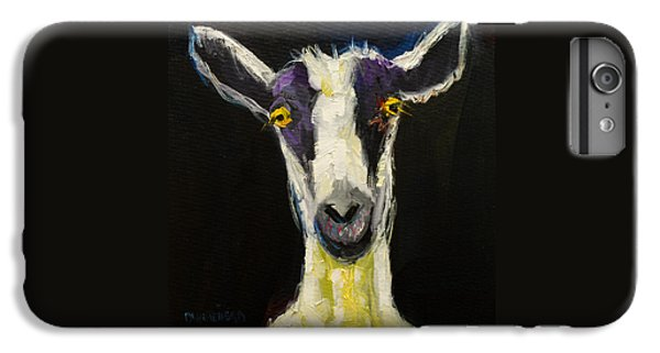 Goat iPhone 6 Plus Case - Goat Gloat by Diane Whitehead