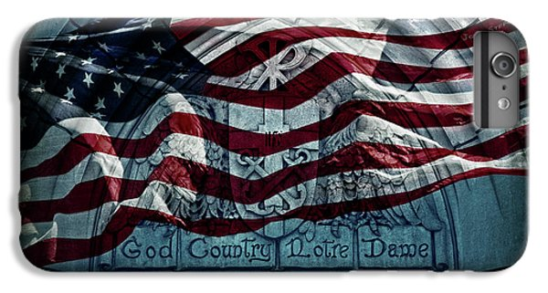 God Country Notre Dame American Flag IPhone 6 Plus Case