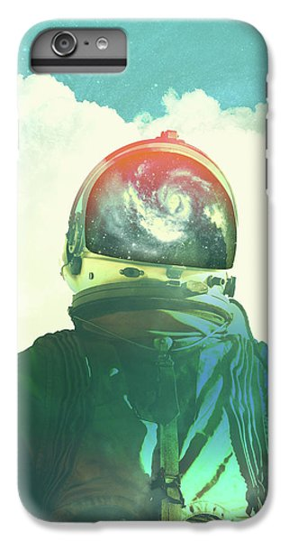 Astronauts iPhone 6 Plus Case - God Is An Astronaut by Fran Rodriguez