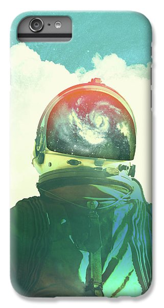 God Is An Astronaut IPhone 6 Plus Case by Fran Rodriguez
