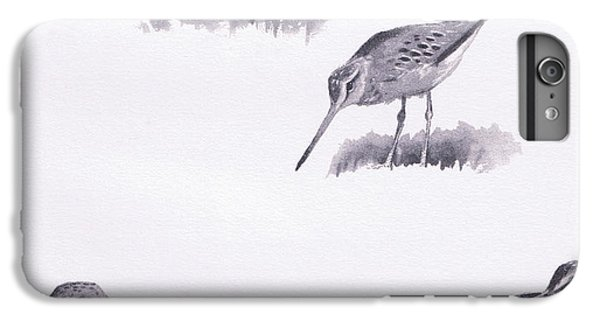 Godwits And Green Sandpipers IPhone 6 Plus Case