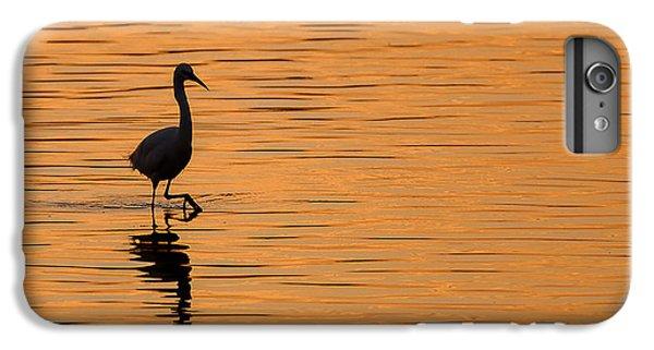 Egret iPhone 6 Plus Case - Golden Egret by Paul Neville