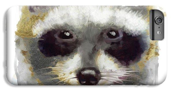 Golden Forest Raccoon  IPhone 6 Plus Case