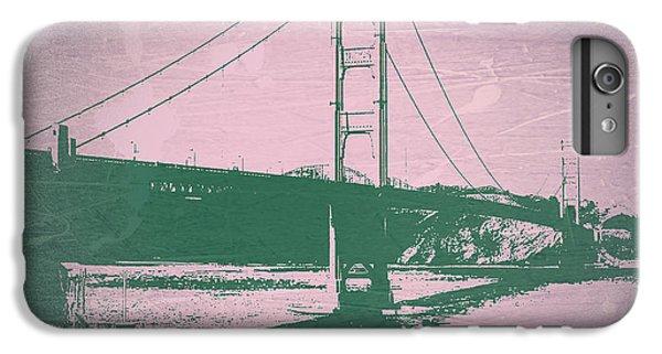 Golden Gate Bridge IPhone 6 Plus Case by Naxart Studio