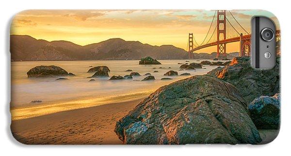 Golden Gate Sunset IPhone 6 Plus Case