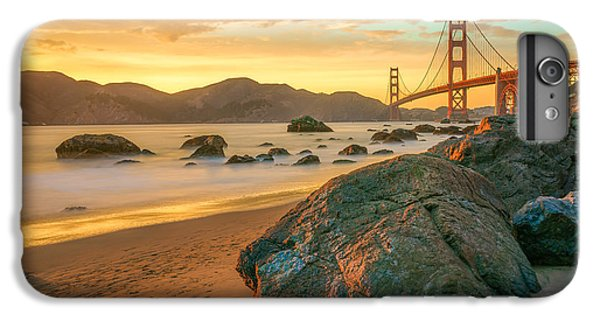 Golden Gate Sunset IPhone 6 Plus Case