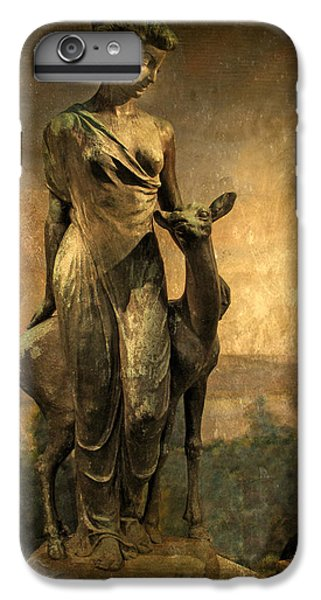 Golden Lady IPhone 6 Plus Case by Jessica Jenney