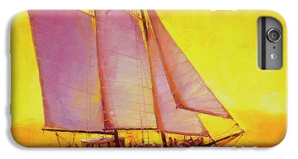 Pacific Ocean iPhone 6 Plus Case - Golden Sea by Steve Henderson