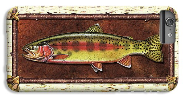 Golden Trout Lodge IPhone 6 Plus Case by JQ Licensing