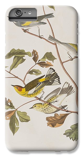 Golden Winged Warbler Or Cape May Warbler IPhone 6 Plus Case by John James Audubon