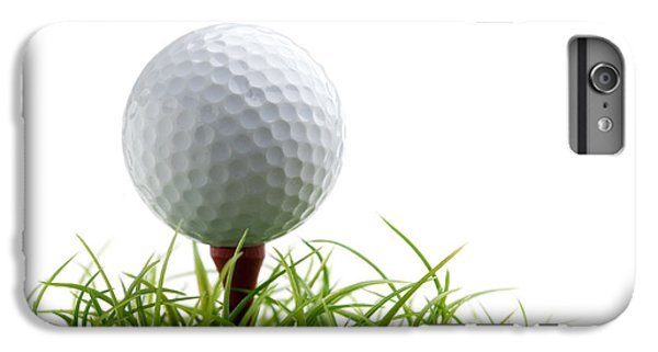 Golfball IPhone 6 Plus Case by Kati Molin