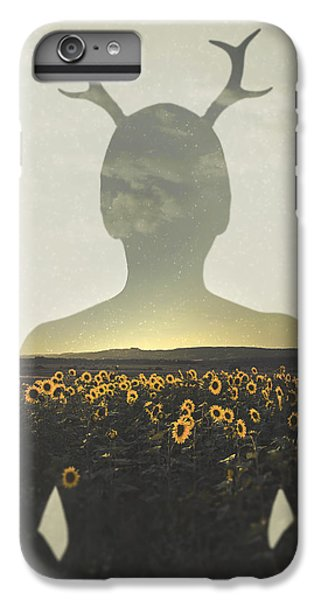 Sunflower iPhone 6 Plus Case - Goodbye Summer by Art of Invi