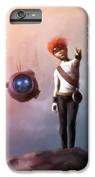 Science Fiction iPhone 6 Plus Case - Goodkid by Jamie Fox