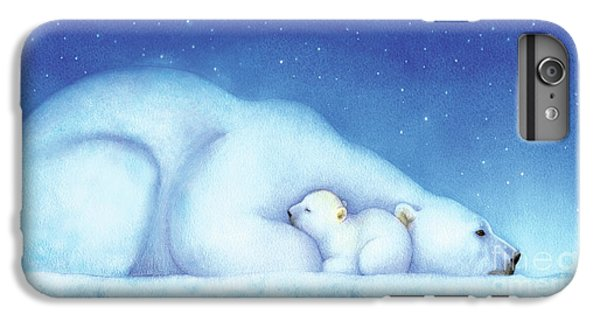 Arctic Bears, Goodnight Nanook IPhone 6 Plus Case by Tracy Herrmann
