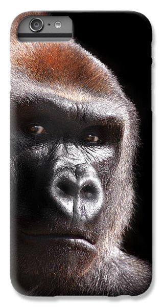 Gorilla ... Kouillou IPhone 6 Plus Case by Stephie Butler