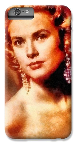 Grace Kelly, Vintage Hollywood Actress IPhone 6 Plus Case by Frank Falcon