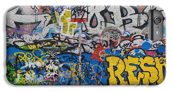 U2 iPhone 6 Plus Case - Grafitti On The U2 Wall, Windmill Lane by Panoramic Images