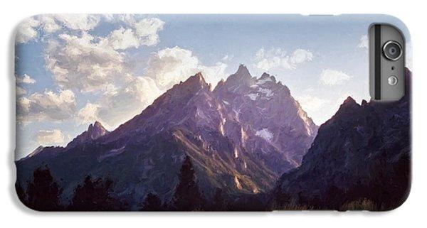 Mountain Sunset iPhone 6 Plus Case - Grand Teton by Scott Norris