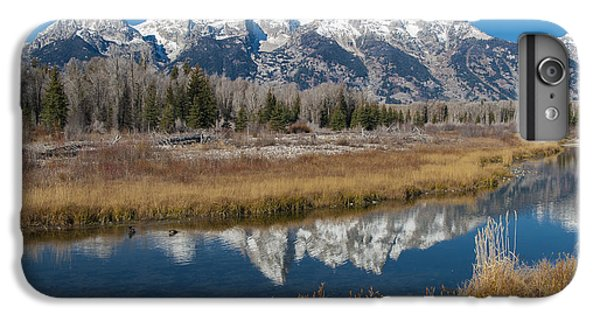 IPhone 6 Plus Case featuring the photograph Grand Tetons by Gary Lengyel