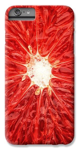 Grapefruit Close-up IPhone 6 Plus Case by Johan Swanepoel