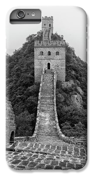 IPhone 6 Plus Case featuring the photograph Great Wall 1, Jinshanling, 2016 by Hitendra SINKAR