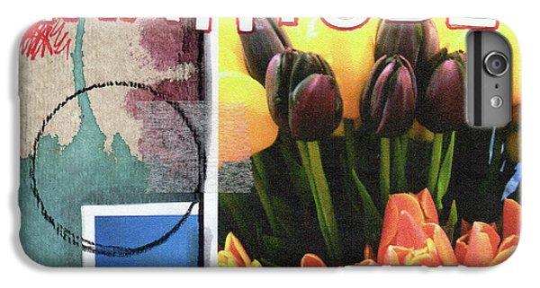 Tulip iPhone 6 Plus Case - Gratitude- Art By Linda Woods by Linda Woods