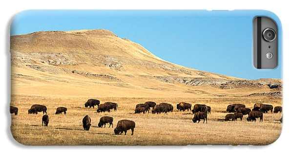 Great Plains Buffalo IPhone 6 Plus Case by Todd Klassy