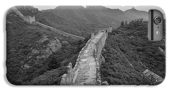 IPhone 6 Plus Case featuring the photograph Great Wall 6, Jinshanling, 2016 by Hitendra SINKAR