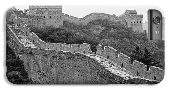 IPhone 6 Plus Case featuring the photograph Great Wall 8, Jinshanling, 2016 by Hitendra SINKAR