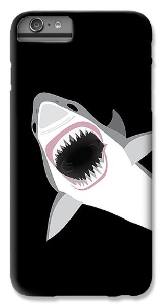 Great White Shark IPhone 6 Plus Case by Antique Images