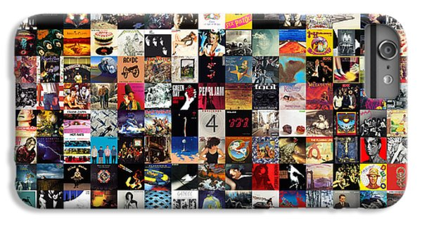 Musicians iPhone 6 Plus Case - Greatest Album Covers Of All Time by Taylan Apukovska