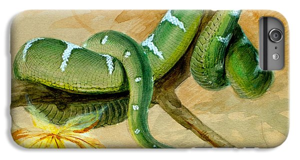 Green Boa IPhone 6 Plus Case