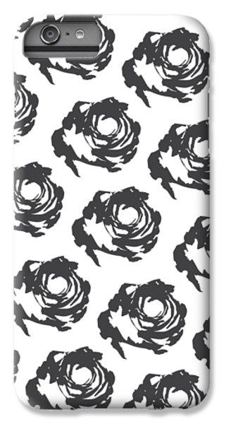 Grey Roses IPhone 6 Plus Case by Cortney Herron