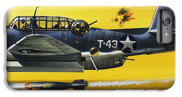Grummen Tbf1 Avenger Bomber IPhone 6 Plus Case by Wilf Hardy