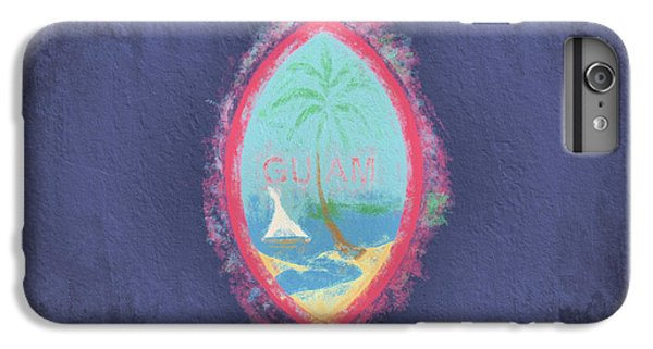 IPhone 6 Plus Case featuring the digital art Guam Flag by JC Findley