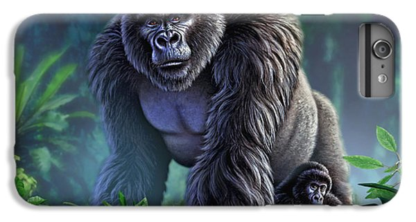 Africa iPhone 6 Plus Case - Guardian by Jerry LoFaro