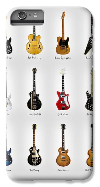 Guitar Icons No2 IPhone 6 Plus Case by Mark Rogan